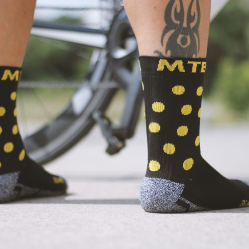 calcetines ciclismo caña alta